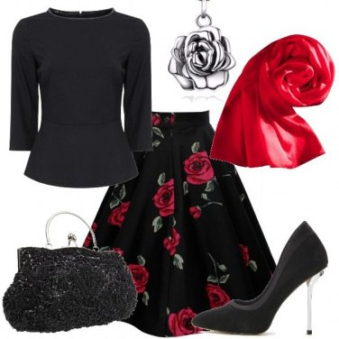 Outfit A tutto rose