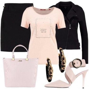 Outfit Un po\' di cipria sul nero