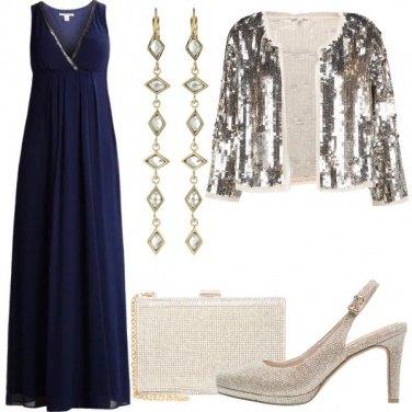 Outfit D\'oro e d\'argento