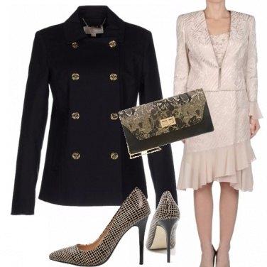 Outfit Il caban si veste elegante