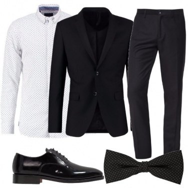 Outfit Eleganza a pois
