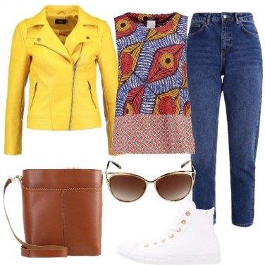 Outfit Una sferzata di colore