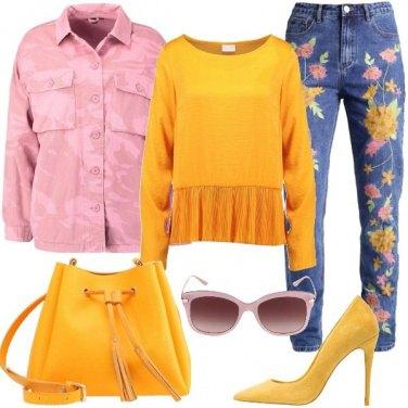 Outfit La primavera in un jeans