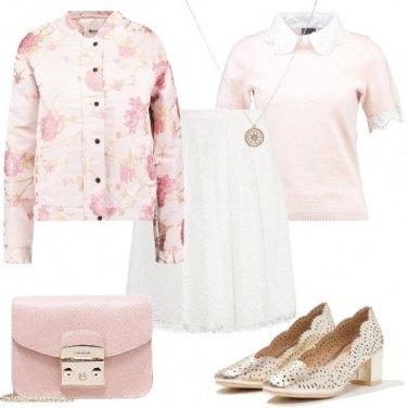 Outfit Pizzi e ricami di primavera