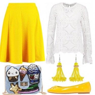 Outfit Io adoro il giallo