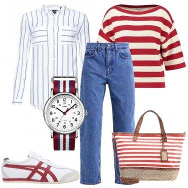 Outfit A lezione in primavera