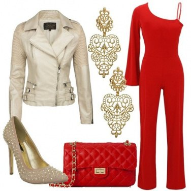 Outfit Festa glamour in discoteca