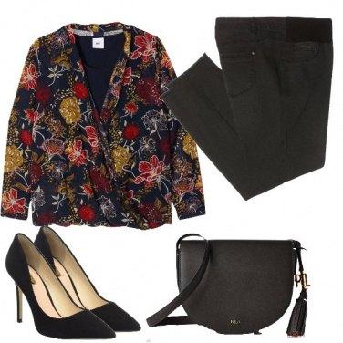Outfit La blusa coi fiori