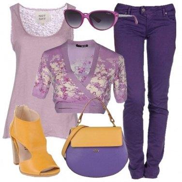 Outfit Viole di Pasqua