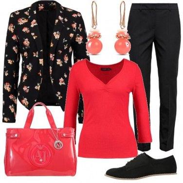 Outfit Un soffio di fiori