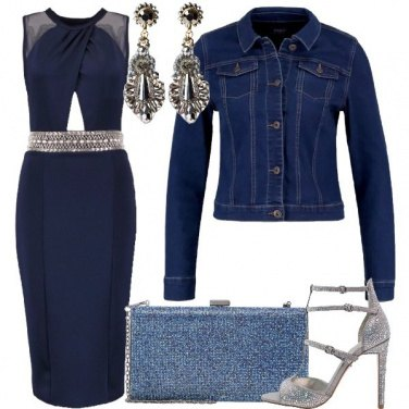 Outfit Tempesta di strass