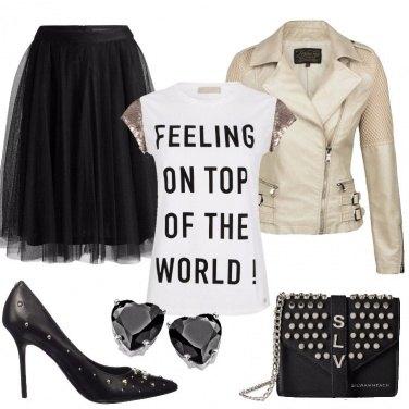 Outfit Rock per una sera