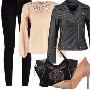 Outfit Anima romantica e rock