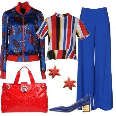 Outfit Contrasto vivo