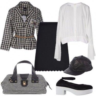 Outfit Portfolio futurista