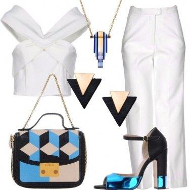 Outfit Geometria negli accessori