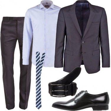 Outfit Al lavoro in grigio