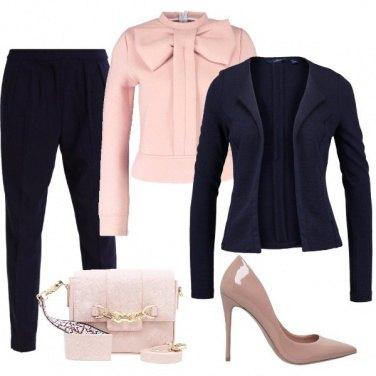 Outfit Il fiocco rosa
