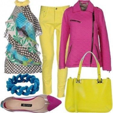 Outfit Griffati e vitaminici