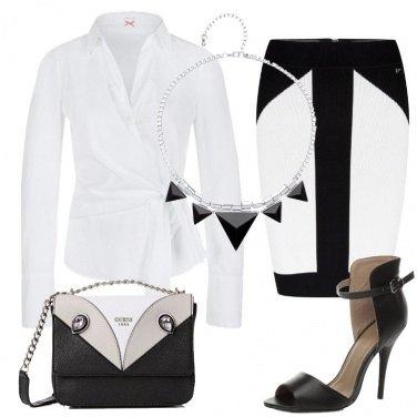 Outfit Bianco e nero protagonisti