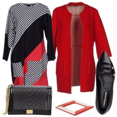 Outfit Geometrie per curvy