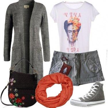 Outfit I fiori di Frida