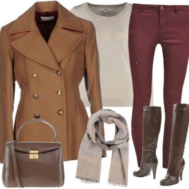 Outfit Bosco chic