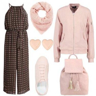 Outfit Un fine settimana tutto rosa