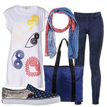 Outfit Stelle e stampe