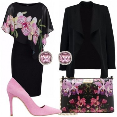 Outfit La scarpa rosa