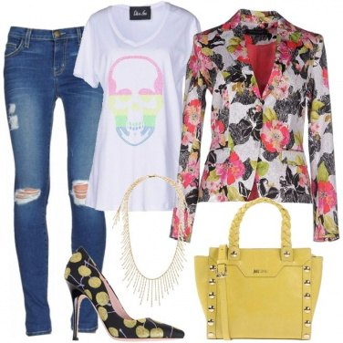 Outfit Fiori e frutti