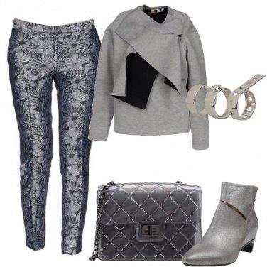 Outfit La borsa in PVC