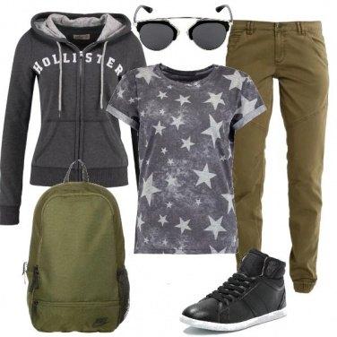 Outfit Zaino in spalla