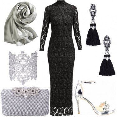 Outfit Sera in pizzo