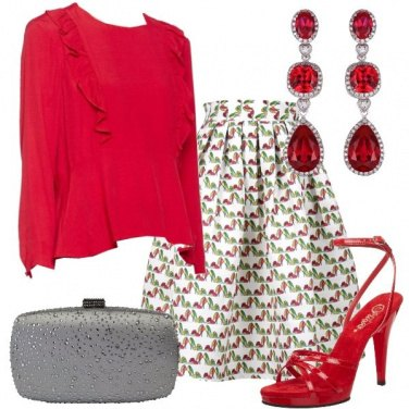 Outfit Con un zig zag glamour