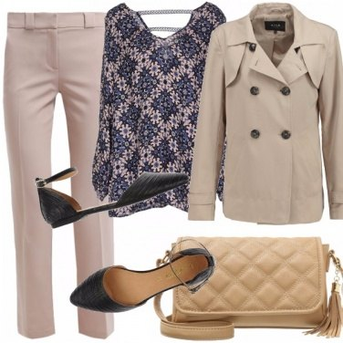 Outfit Blu daily - look in low