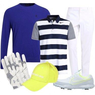 Outfit Lui ama il golf