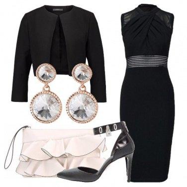 Outfit Elegante con il tubino