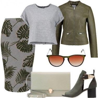 Outfit Foglie esotiche