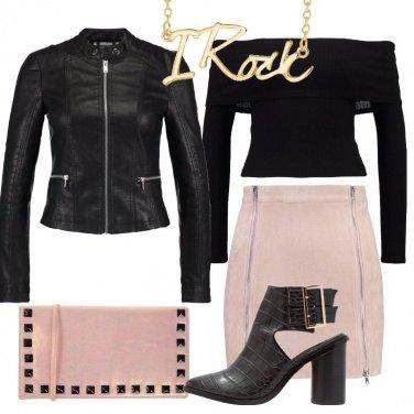 Outfit Ispirazione rock