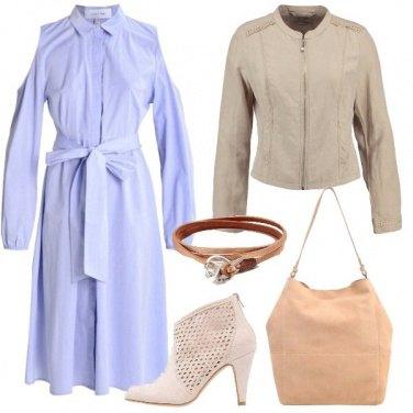 Outfit Un abito dall\'aria particolare