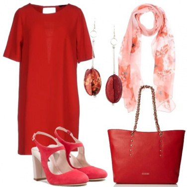 Outfit Abito rosso