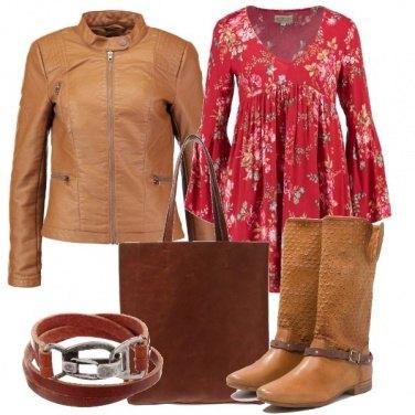 Outfit Opzione stivale in primavera