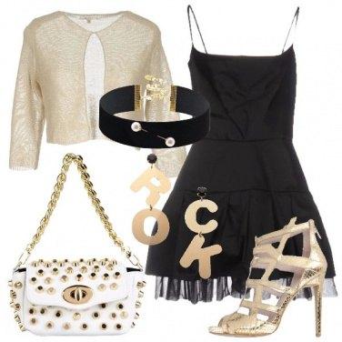 Outfit Rock scintillante