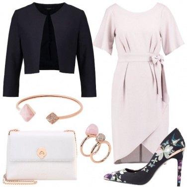 Outfit Grigio perla
