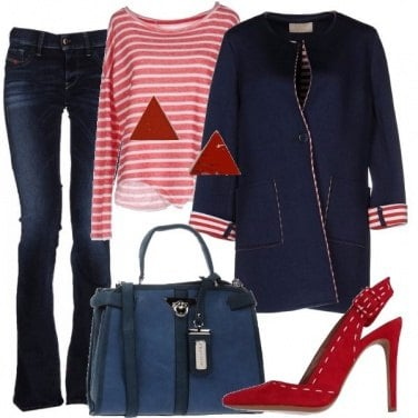 Outfit Trend a righe