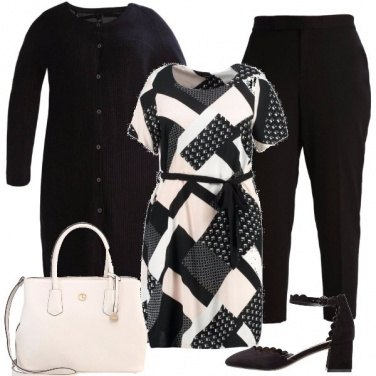 Outfit Raffinate geometrie