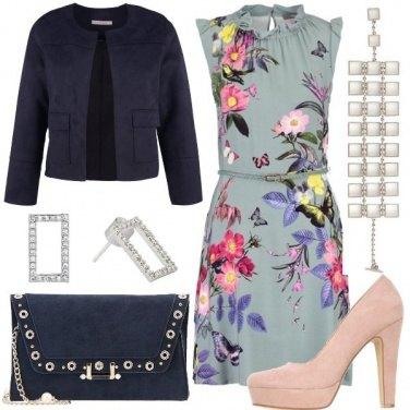 Outfit Fiori colorati