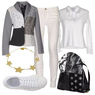 Outfit Assemblaggio di stoffe