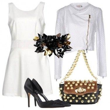 Outfit Delicata con le borchie